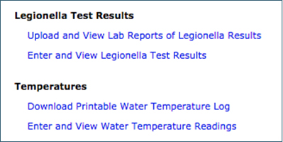 Databases for Logging and Interpreting Test Results