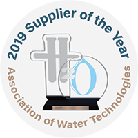 2019 Supplier of the Year Award Association of Water Technologies